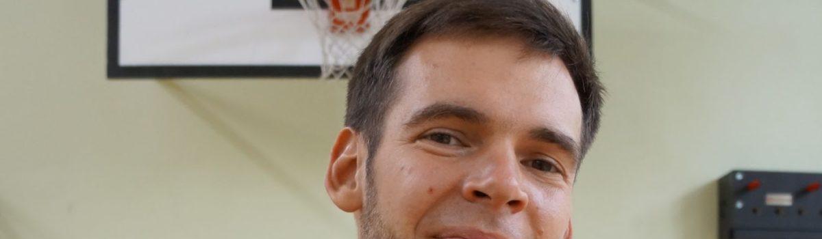 Bartosz Cupiał – wychowawca klasy 8, nauczyciel WF