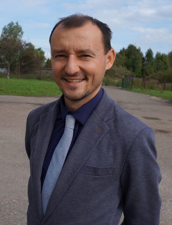 Marcin Pioskowik - Wicedyrektor ds. dydaktycznych, wychowawca klasy 5, nauczyciel muzyki