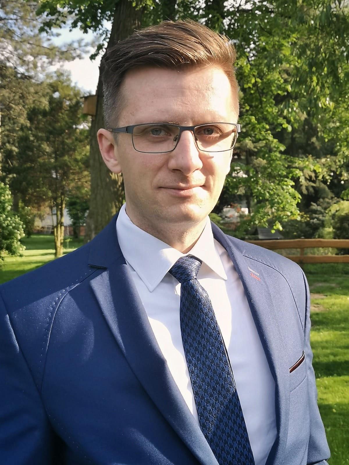 Michał Misztal - nauczyciel religii, koordynator kl. 0-3