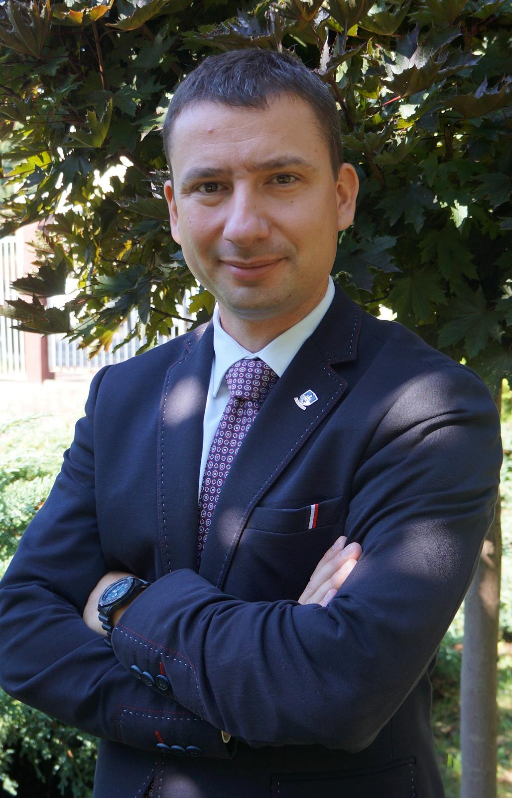 Szymon Nyga - Dyrektor szkoły, nauczyciel historii