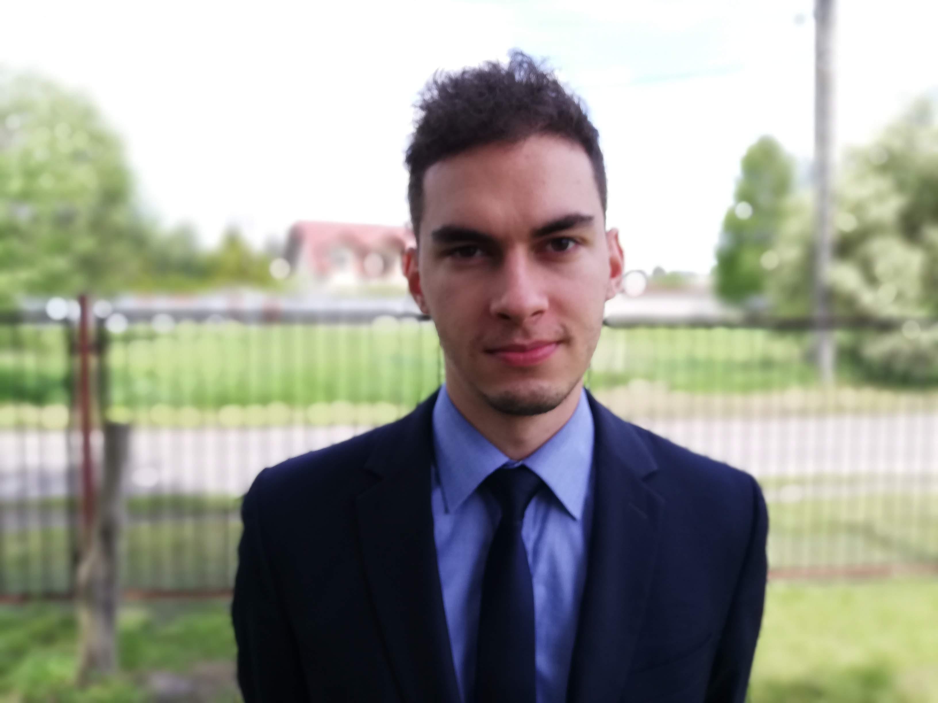 Norbert Tocki - wychowawca klasy 1, nauczyciel religii